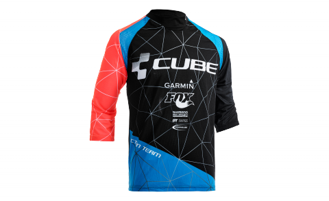 CUBE ACTION Roundneck Jersey Signature 3/4-Arm
