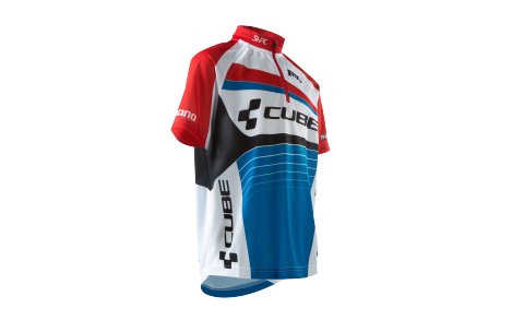 CUBE JUNIOR TEAMLINE Jersey S/S