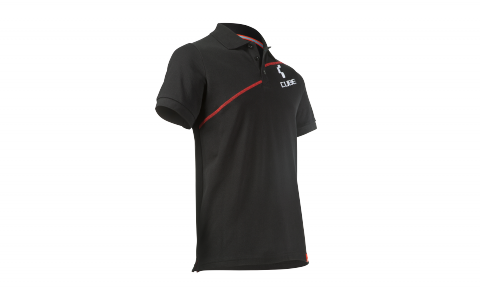 CUBE Polo Shirt Diagonal